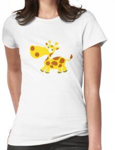 Little Giraffe Womens Fitted T-Shirt