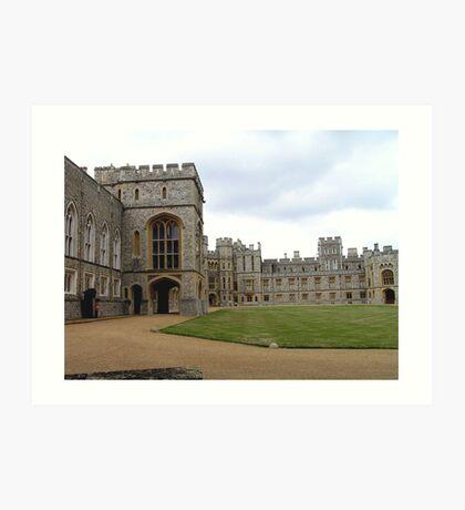 Windsor Castle, UK, Europe Art Print