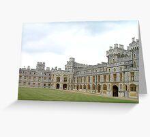 Windsor Castle, UK, Europe Greeting Card