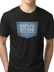 Rocker On Jeans Tri-blend T-Shirt