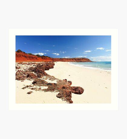 Cape Peron - Shark Bay Western Australia  Art Print