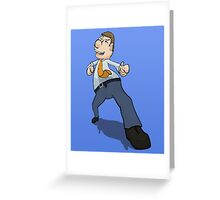 Jimmy Business  Greeting Card