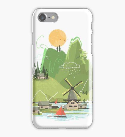 Glitchscape iPhone Case/Skin
