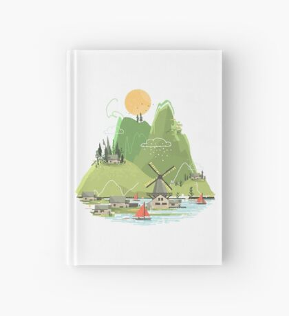 Glitchscape Hardcover Journal