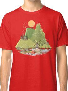 Glitchscape Classic T-Shirt