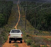Driving The Powerlines Track by EOS20