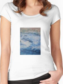 Blue Fury Women's Fitted Scoop T-Shirt