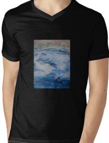 Blue Fury Mens V-Neck T-Shirt