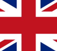 Flag of the United Kingdom, Union Jack, British flag, Pure & Simple Sticker