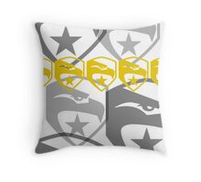 The Iconic G.I.Joe (white) Throw Pillow