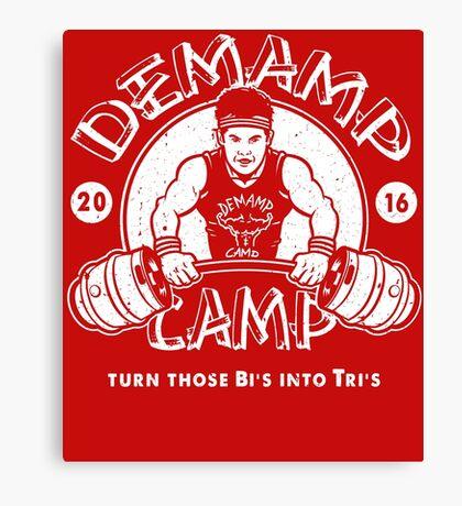 Demamp Camp Canvas Print