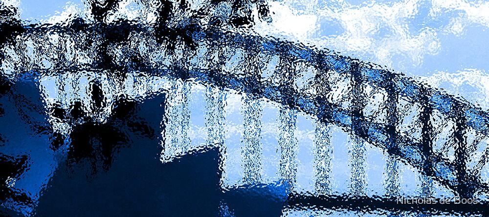 Sydney in Blue by Nicholas de Boos