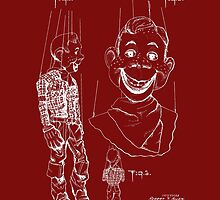 Howdy Doody Style Puppet Patent by Barry  Jones