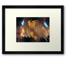 The Rialto Towers Framed Print