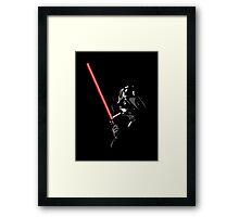 Darth Vader Lightersaber - Star Wars Framed Print