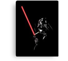 Darth Vader Lightersaber - Star Wars Canvas Print