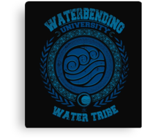 Waterbending university Canvas Print