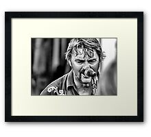The Voice Framed Print