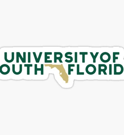 University of South Florida - Style 19 Sticker
