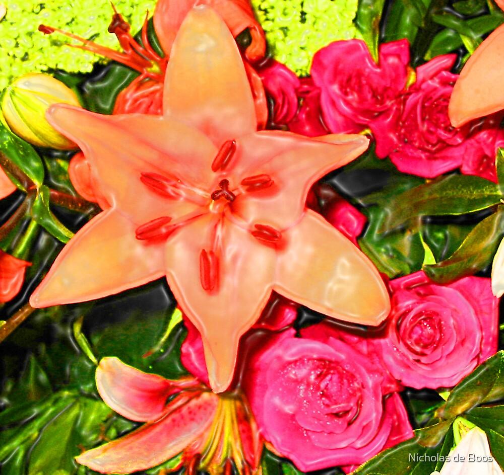 Flowers by Nick de Boos