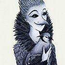 Blue Jayne by Mariya Olshevska
