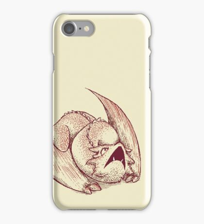 Little Smaug - Dragon on paper iPhone Case/Skin