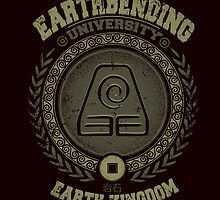Earthbending university by Typhoonic