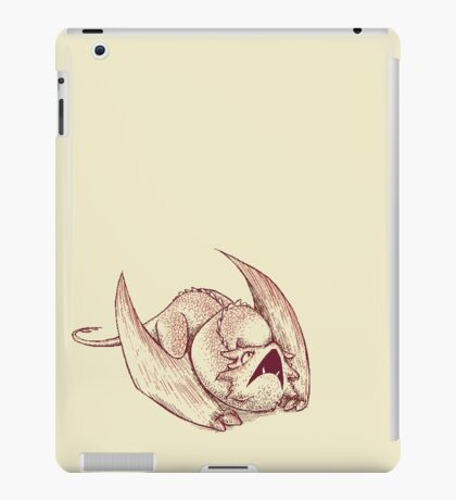 Little Smaug - Dragon on paper iPad Case/Skin