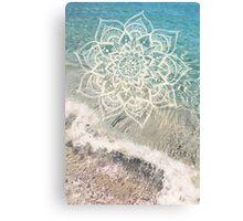Ocean Mandala Canvas Print