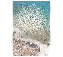 Ocean Mandala Poster