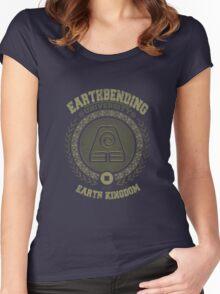 Earthbending university Women's Fitted Scoop T-Shirt