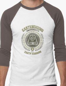 Earthbending university Men's Baseball ¾ T-Shirt