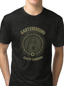 Earthbending university Tri-blend T-Shirt