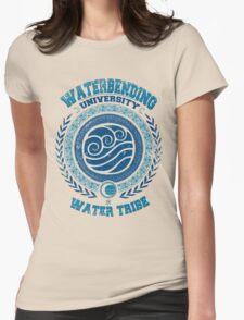 Waterbending university Womens Fitted T-Shirt