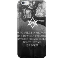 Bring Me the Horizon Drown Print iPhone Case/Skin