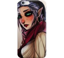 A Cool Elf. She is a cool elf indeed. iPhone Case/Skin