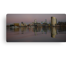 Docklands @ Sunset Canvas Print