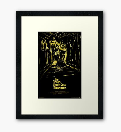 The Texas Chain Saw Massacre Framed Print