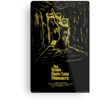 The Texas Chain Saw Massacre Metal Print