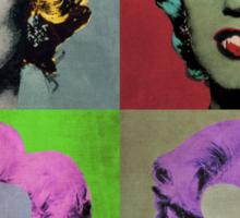 Vampire Marilyn set of 4 Sticker