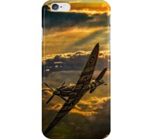 Spitfire Attack iPhone Case/Skin