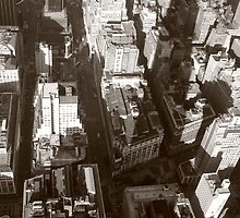 NY from above by Peter Dials