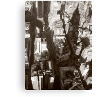 NY from above Canvas Print
