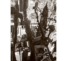 NY from above Photographic Print