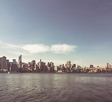 New York City Skyline by thomasrichter