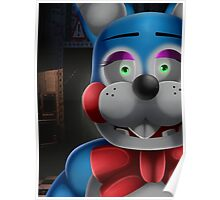 Toy Bonnie in office Poster
