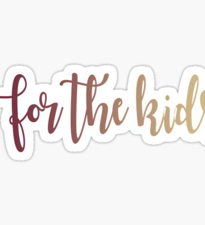 Garnet For The Kids Sticker