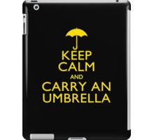 Keep Calm And Carry An Umbrella iPad Case/Skin