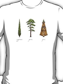 Fur Tree T-Shirt