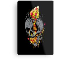 Rest in pizza Metal Print